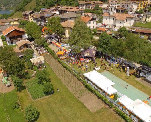 Videoriprese aeree con drone per Ledro Skyrace 2017