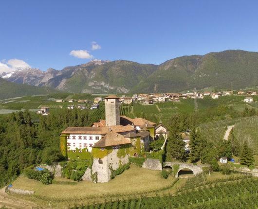 Video riprese aeree con drone presso castel Valer - Val di Non 2