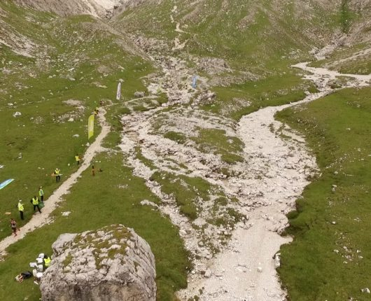 Video riprese aeree con drone per Dolomites Skyrace 2017