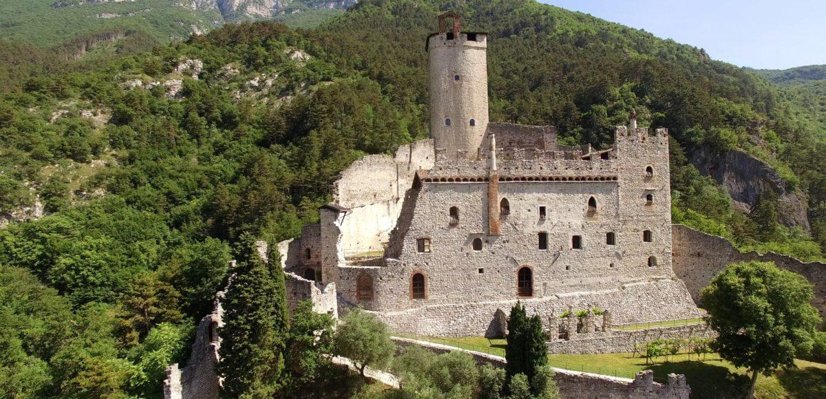 Videoriprese aeree con drone per Museum Pass Trentino