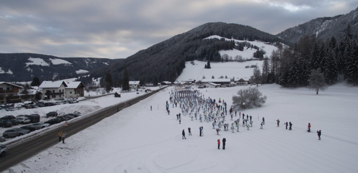 Video riprese aeree con drone per Pustertaler 2018 1