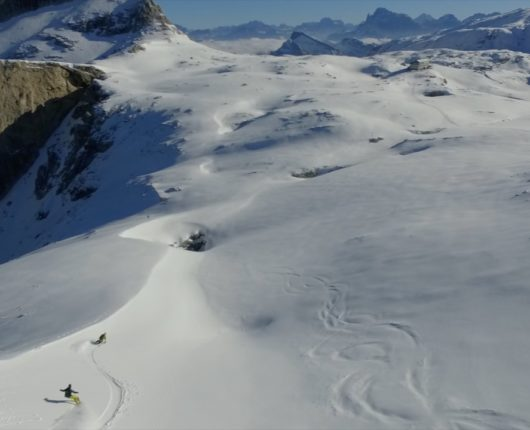 Videoriprese aeree con drone per documentario The Clean Approach 7 Pale di San Martino