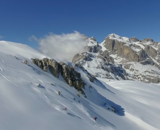 Videoriprese aeree con drone per documentario The Clean Approach 5 Pale di San Martino