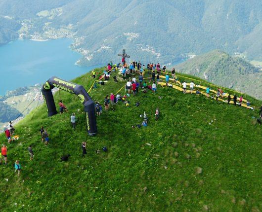 Riprese aeree con drone per Ledro skyrace 2018 a