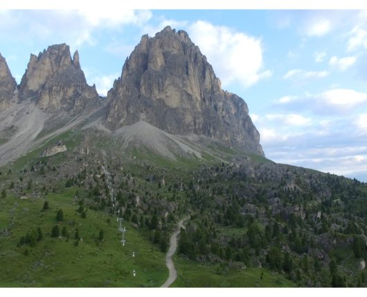 Video riprese aeree con drone per Dolomyths ULTRA 2018 1