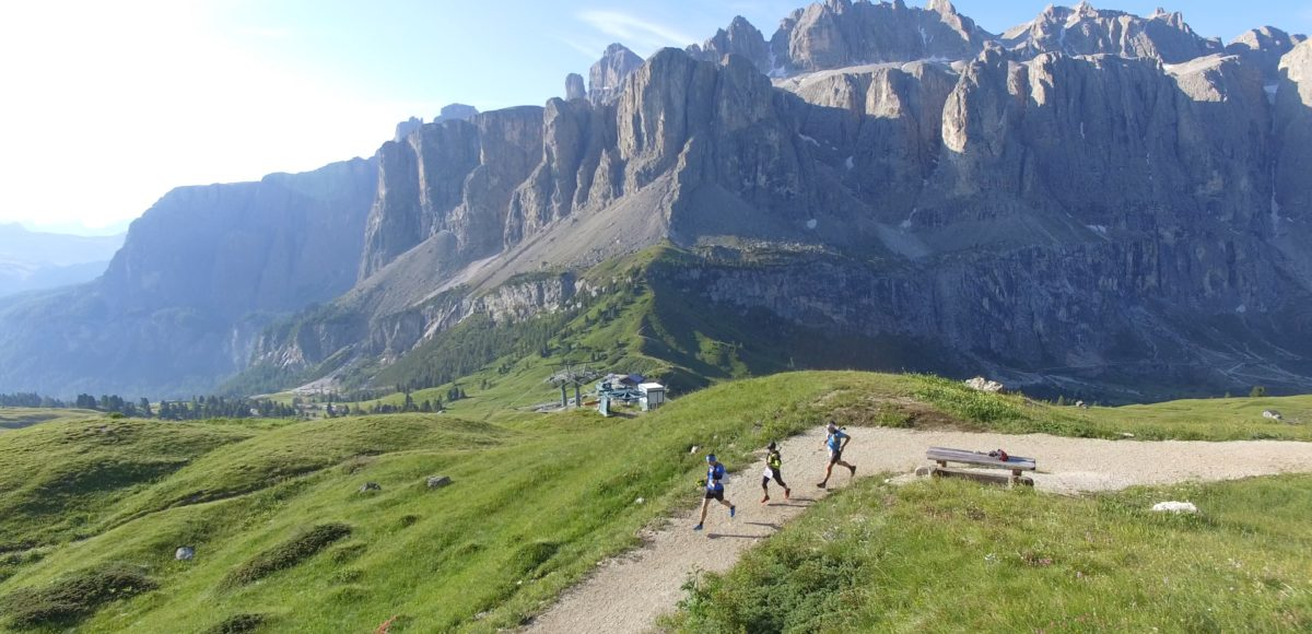 Video riprese aeree con drone per Dolomyths ULTRA 2018 3