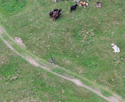 videoriprese aeree con drone per CUET 2018