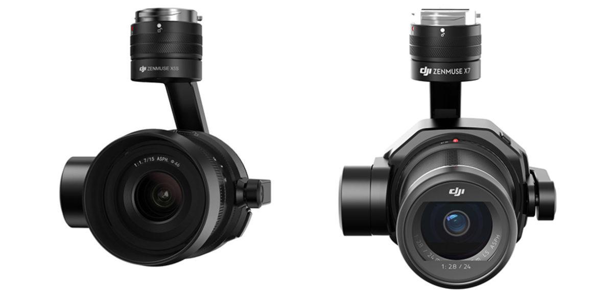 interix drone - DJI Zenmuse X5S e Zenmuse X7