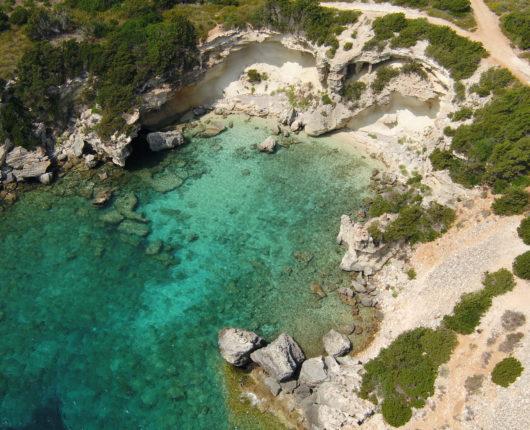 Riprese aeree con drone per Tuscany Adventure Times - Pianosa