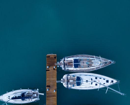 Riprese aeree con drone per Tuscany Adventure Times - sail