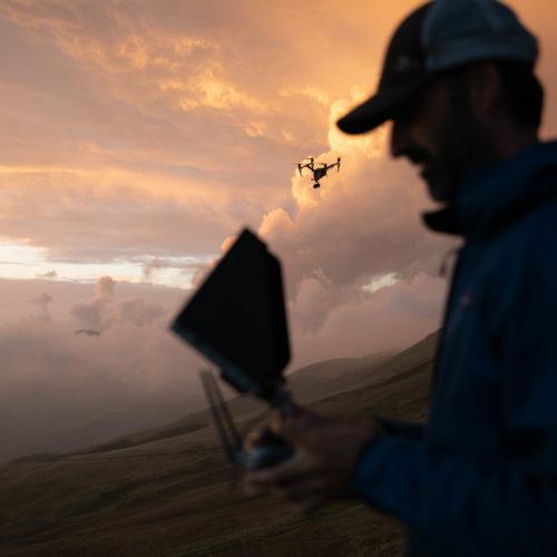 Riprese con drone Interix - pilota