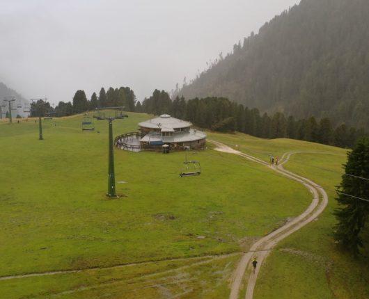 Riprese con drone - latemar mountain race